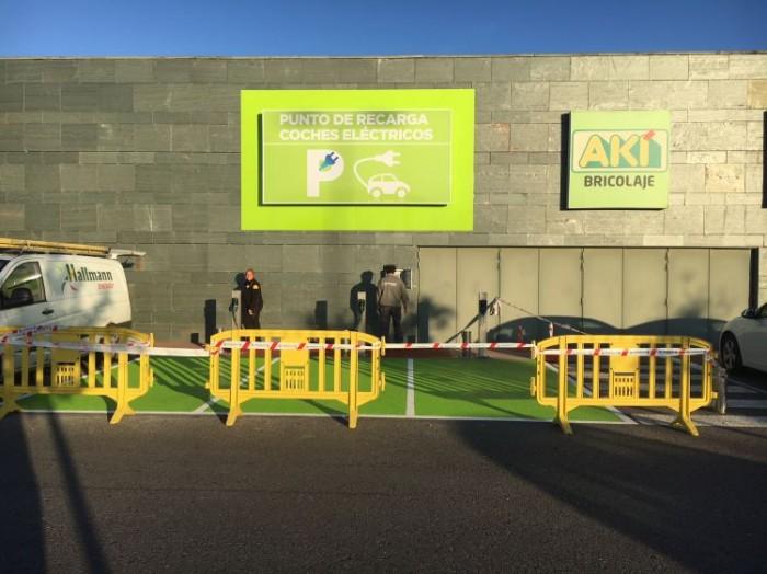 HALLMANN ENERGY, ejecuta la Instalación Cargadores Tesla para coches eléctricos en Centro Comercial As Termas de Lugo